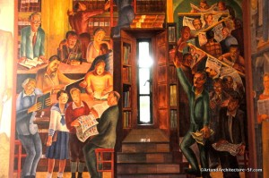 Telegraph Hill - Coit Tower Murals