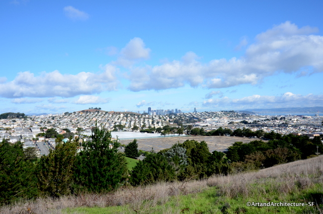 This Is The View Towards Downtown San Francisco From John McLaren Park.