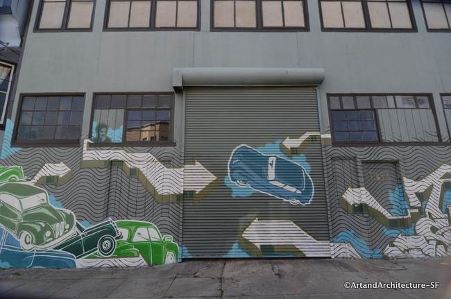 Mural at 1354 York Street in San Francisco