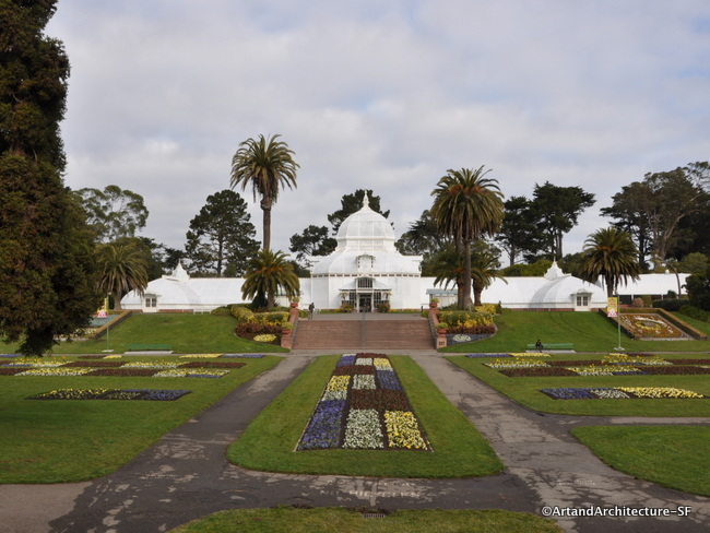 Conservatory Of Flowers Public Art And Architecture From Around The World