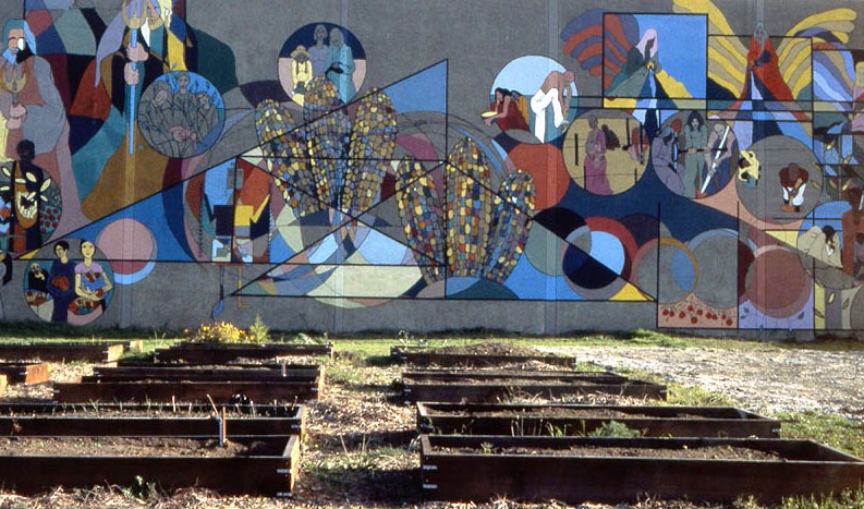 Candlestick Point Community Garden Mural
