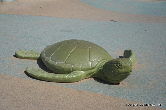 Turtle at the Koret Playground