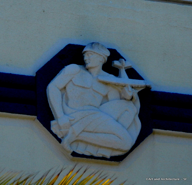 Ornamentatio  on The Administration Building on Treasure Island