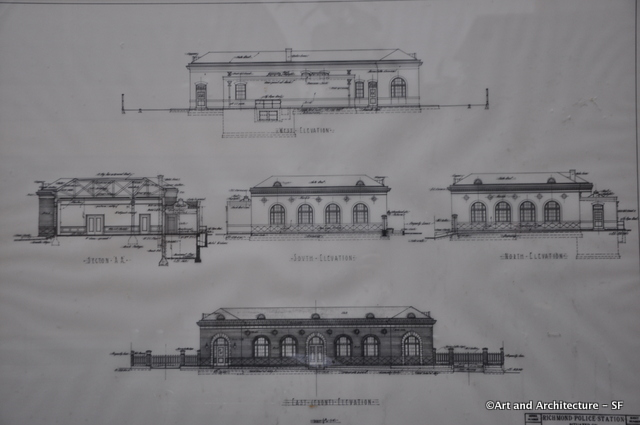 Richmond District Fire Station Blueprints