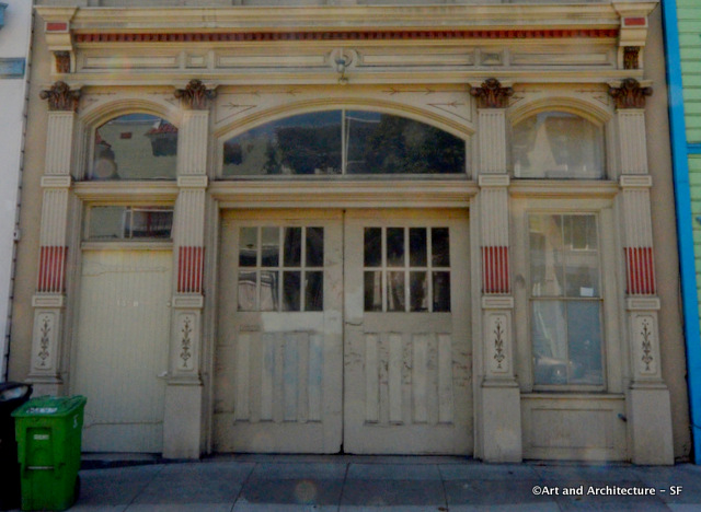 Front Doors of Firehouse on Valencia Street