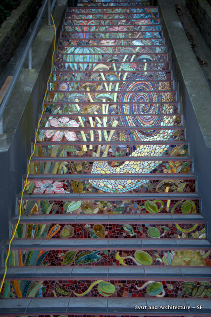 First section of stairs off of 16th Avenue