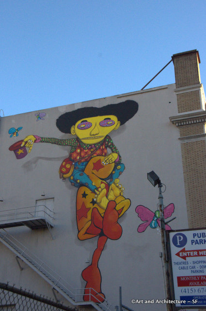 Os Gemeos and Mark Bode