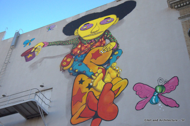 Os Gemeos and Mark Bode Collaborate at the Warfield in San Francisco