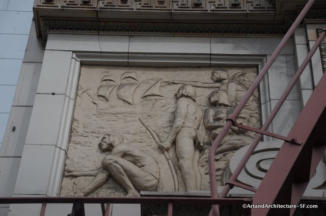 Jo Mora on the Native Sons of the Golden West Building