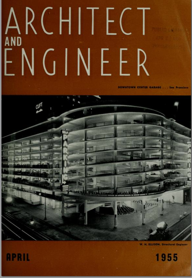 Architect and Engineer Magazine 1950's San Francisco