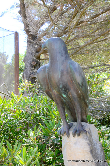 Bronze Hawk at SF Zoo