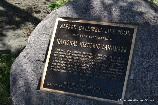 Alfred Caldwell's Lily Pond