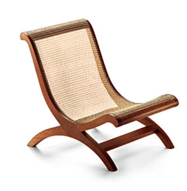 In 1940 Porset made a cheaper version of William Spratlings Butaque chair. These are the ones in Hemingway's home.