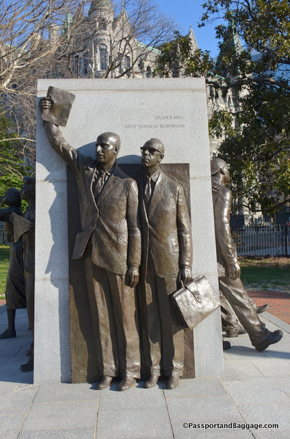 Civil Rights Monument, Richmond VA