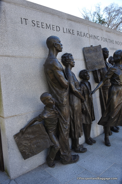 Civil Rights Monument in Richmond VA