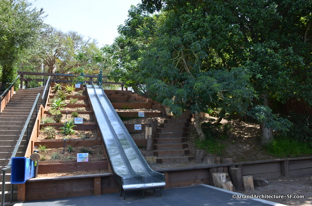 Esmeralda Street Stairs and Park