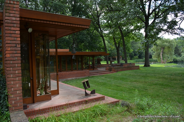 Smith Frank lloyd Wright home Detroit