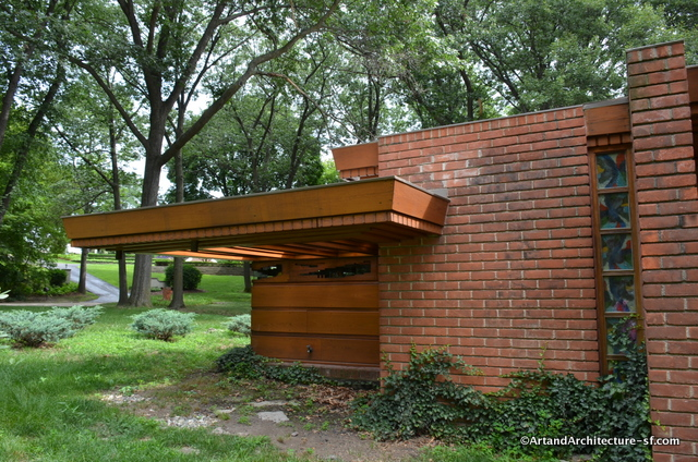 Frank Lloyd Wright Detroit Usonian Home