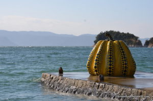 Pumpkins on Naoshima